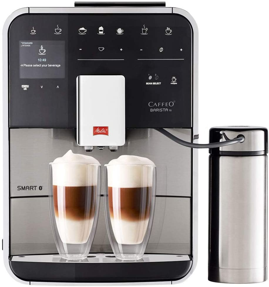 Image of the Melitta Barista TS Smart coffee maker, from Melitta