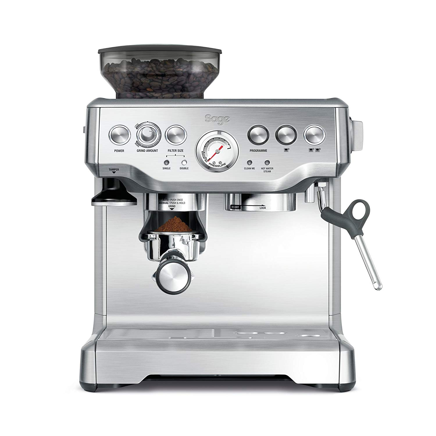Image of the Barista Express coffee machine from Sage