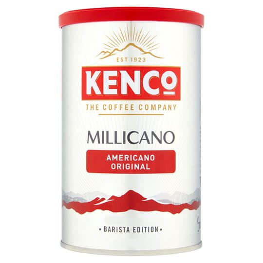 Millicano americano original instant coffee jar