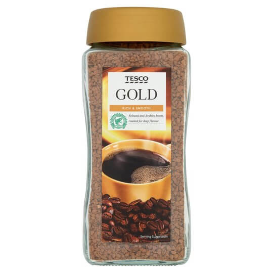 Tesco branded instant coffee granuals
