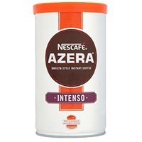 jar of Necafe azera intenso on a shop shelf