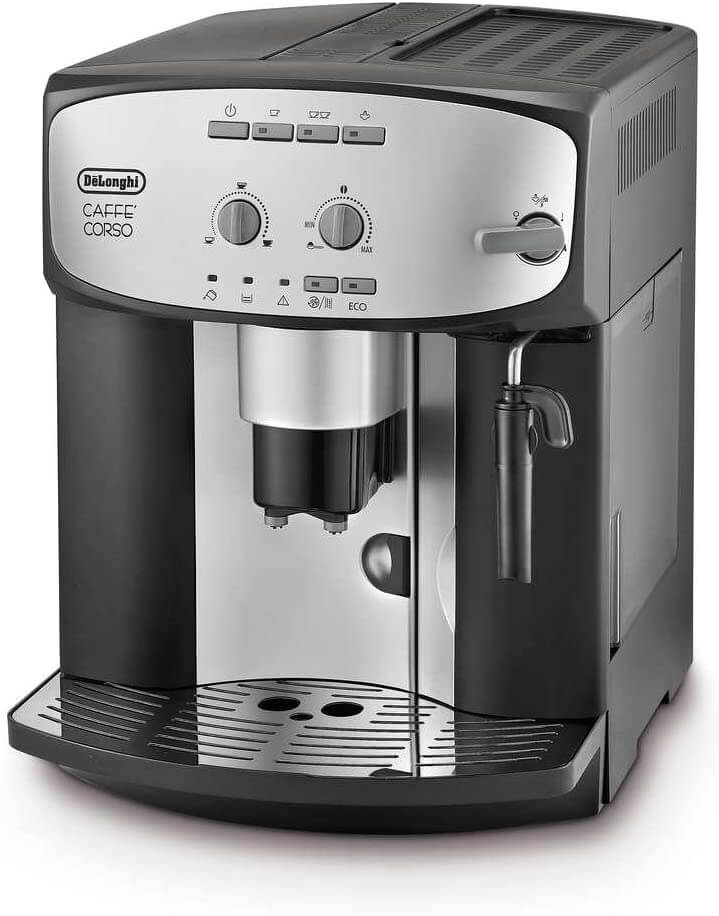 Image of the Caffe Corso coffee machine from De'Longhi