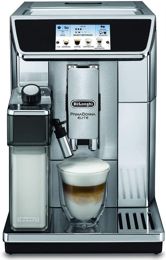 Image of the Prima Donna Elite coffee maker by De'Longhi