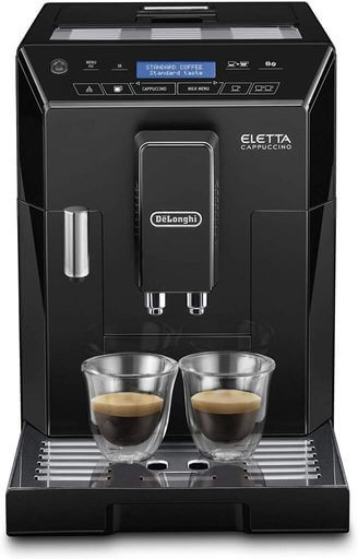 De'Longhi Eletta cappuccino bean to cup coffee machine