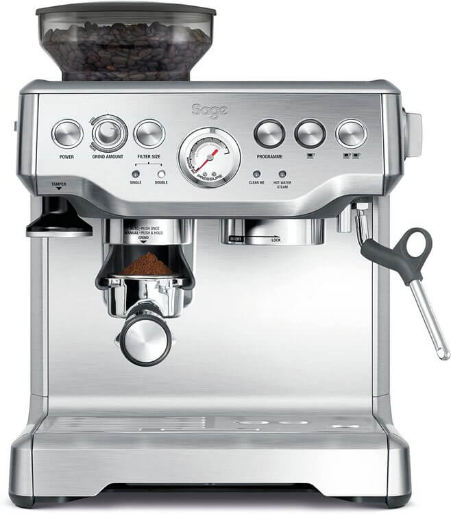 Photo of Barista Express bean-to-cup coffee machine from Sage Appliances
