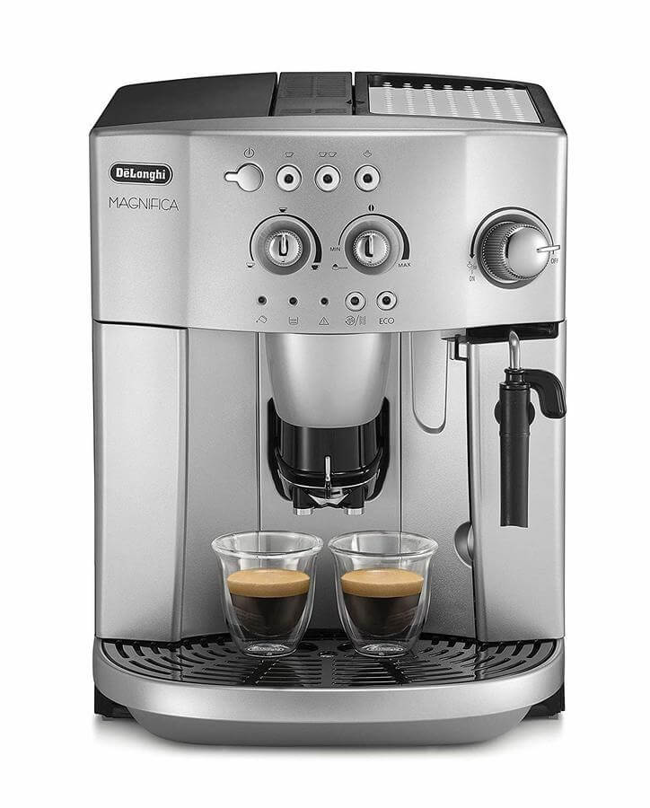 Picture showing the Magnifica coffee machine from De'Longhi