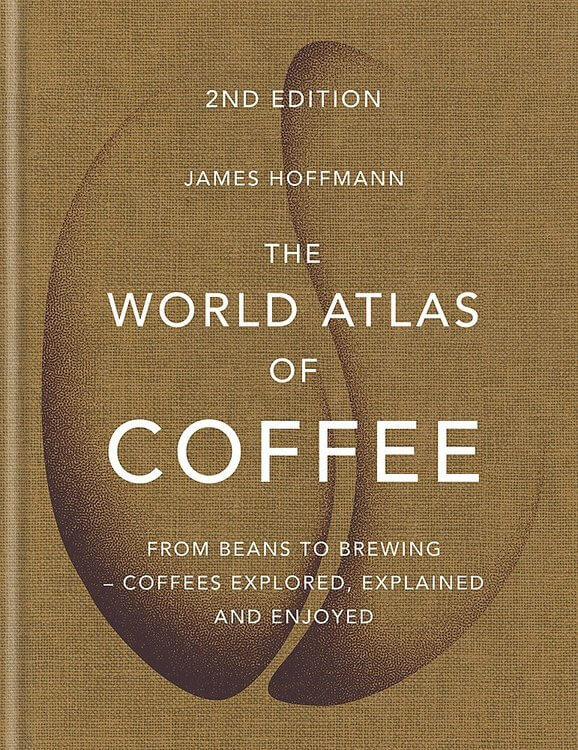 Picture of The World Atlas of Coffee book cover.