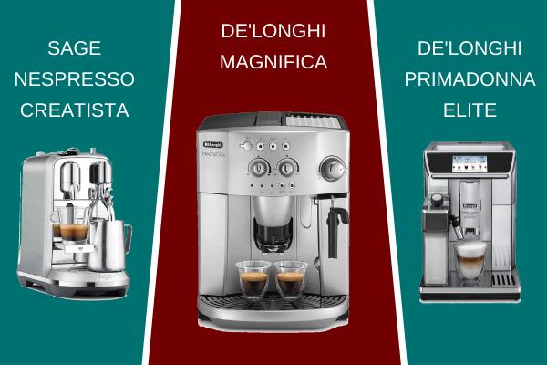 Let's Compare Automatic Cappuccino Machines