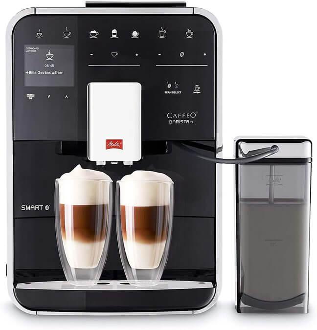 Image of the Melitta Barista TS Smart coffee maker, from Melitta