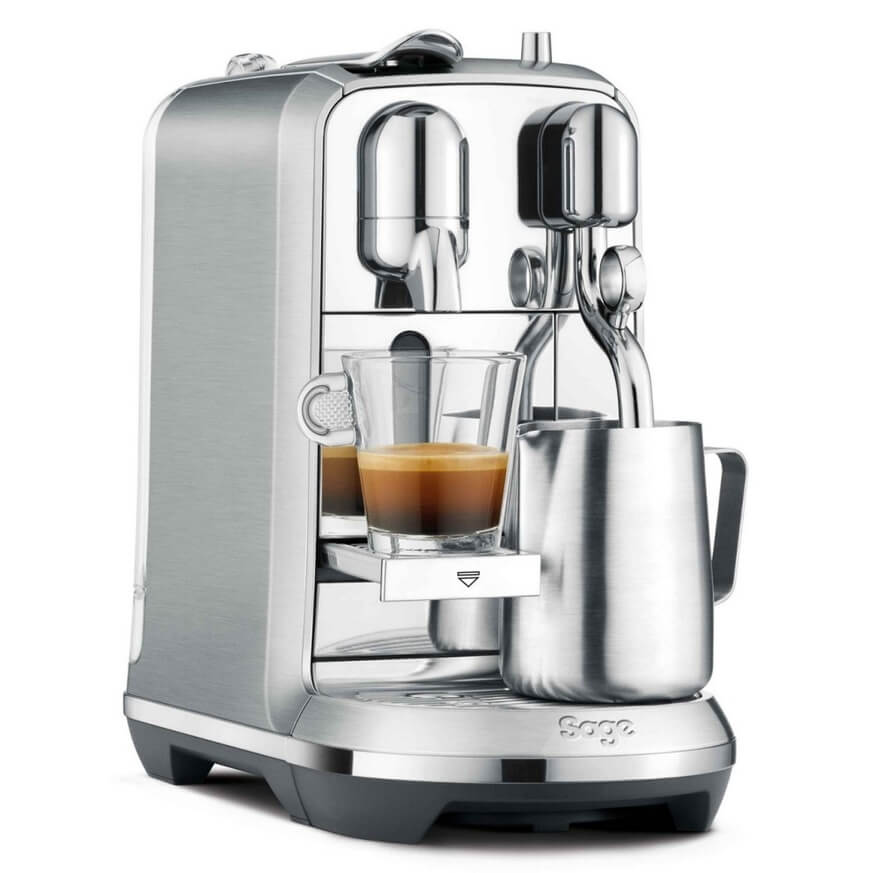 Picture of fully automatic Nespresso machine.